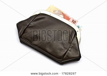 Old Purse And Money
