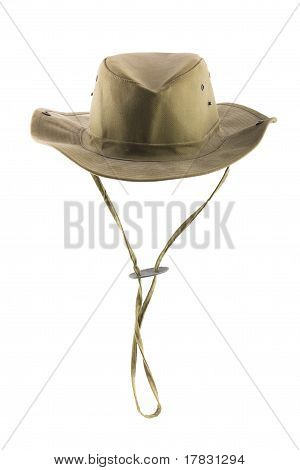 Bush hat isolated