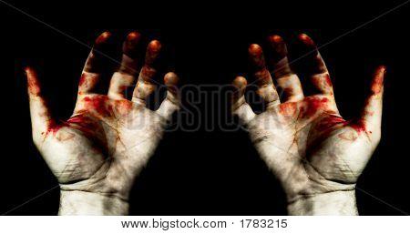 Mãos em sangue