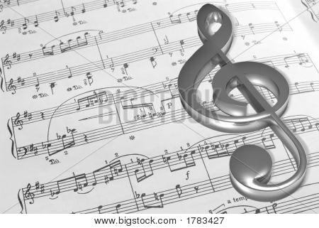 Music Note Sheet