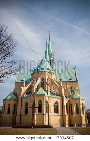 Neogothic Cathedral In Lodz