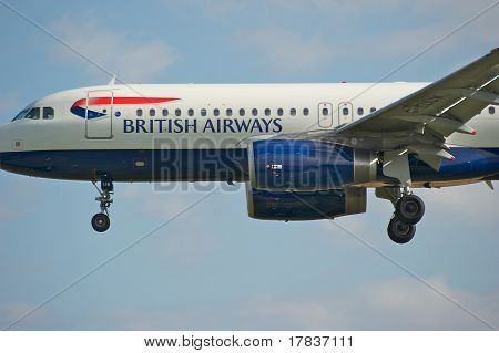 Ba Airbus A320 Close Up