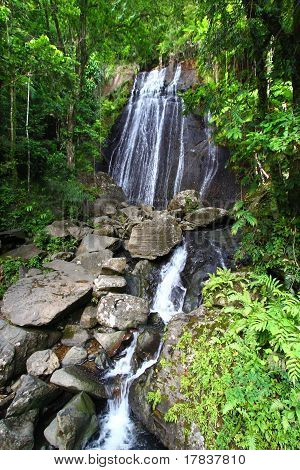 La Coca Falls - Puerto Rico