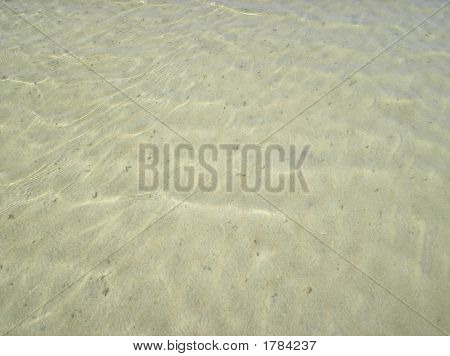 Clear Water On The White Sand