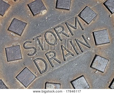 sewage system for rain water, Street Metal Construction Details