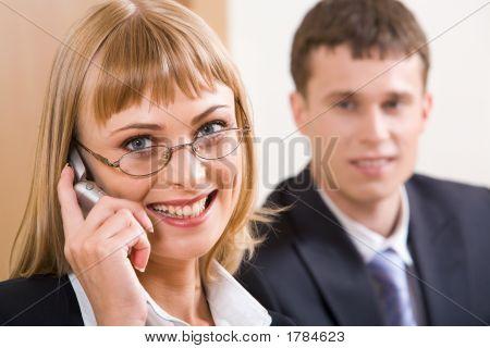 Chamando pelo telefone