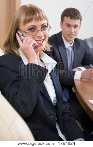 Chamando a menina
