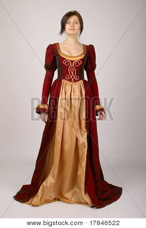 Pretty Girl In A Dress Medieval