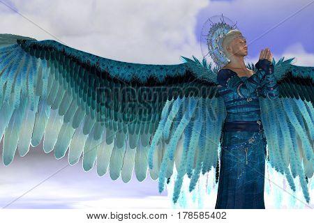 Angel Michael 3d