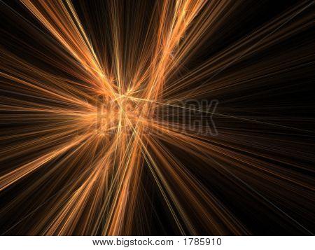 3D Feuer-Explosion-Strahlen