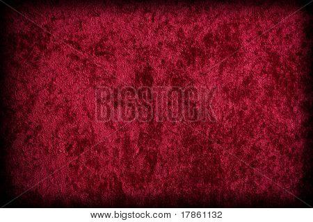 rotem Samt wie Stoff
