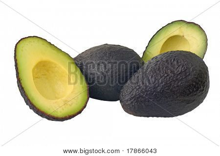 Hass variety avocado, produced in Central Chile.