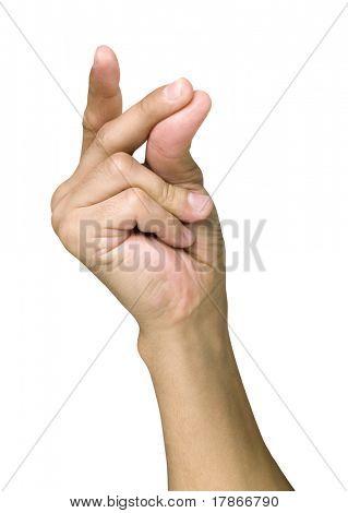Chasquear los dedos de la mano