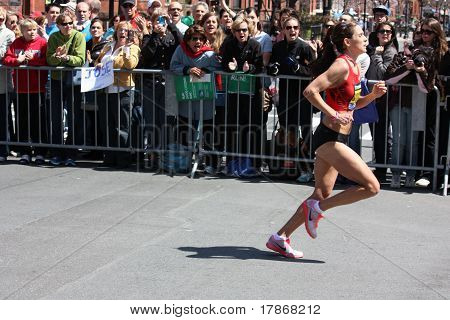 Boston Marathon Runner