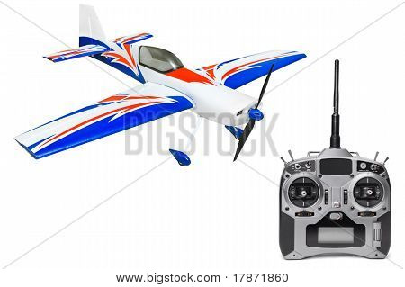 RC plane and radio remote control