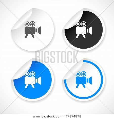 Stickers for web. Vector.