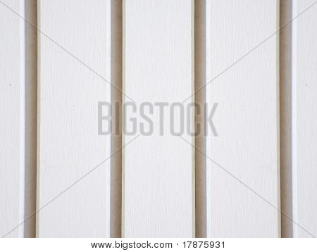 white fence background