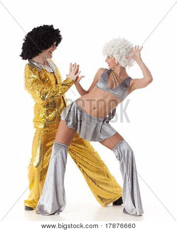Young Dancing Couple.