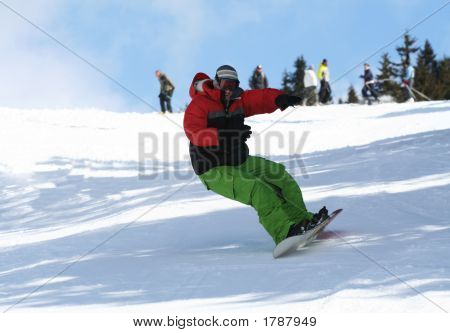 Winter Sport Snowboarding
