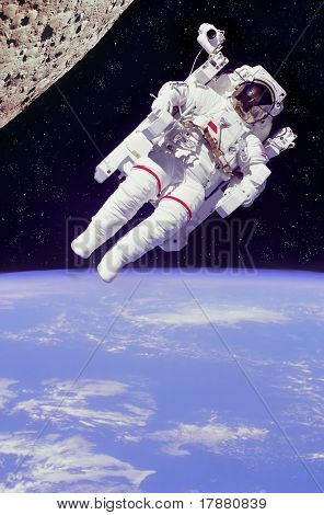 Floating Astronaut