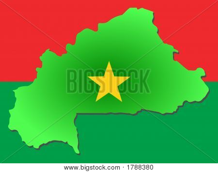 Map Of Burkina-Faso