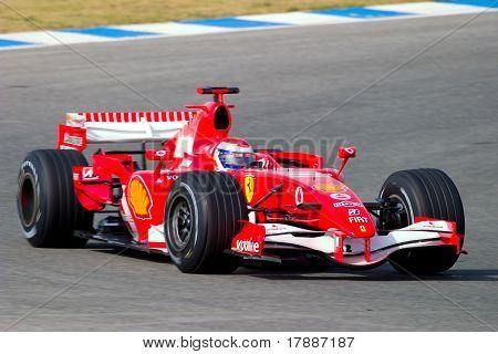 Scuderia Ferrari f1, Marc gen, 2006