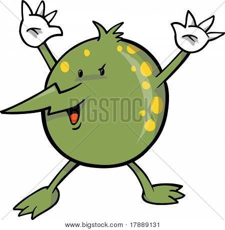 Ilustração do vetor de germe