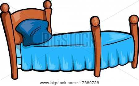 Bed Vector Illustration