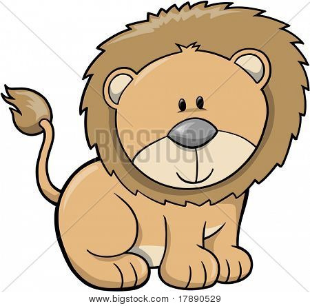 Lion Vector Illustration