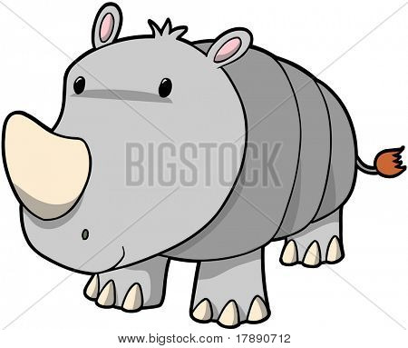 Rhino Vector Illustration