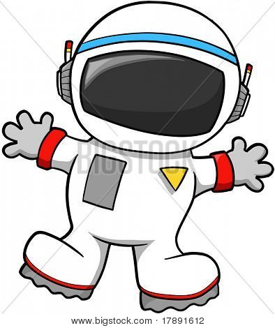 Astronaut Vector Illustration