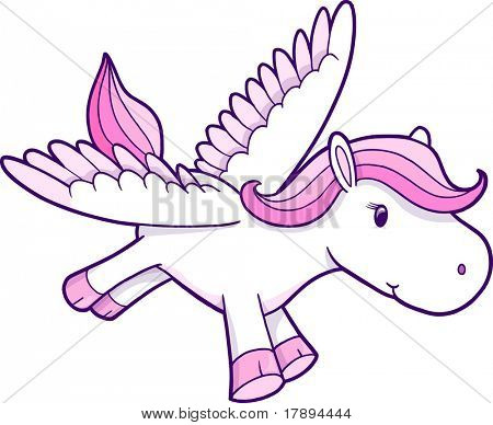 Pegasus Vector Illustration