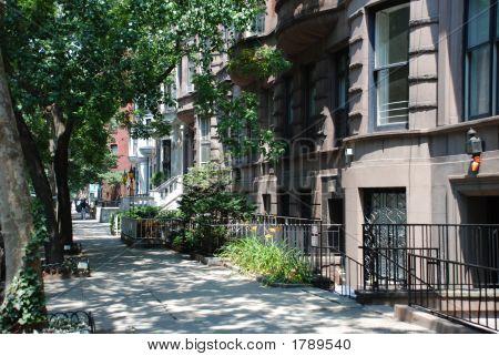Manhattan Cityscape Street Scene