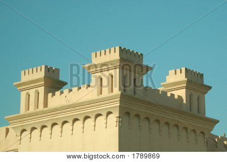 Castle Against A Blue Sky