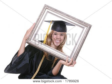 Graduating Woman