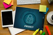 Privacy Access Identification Password Passcode And Privacy poster