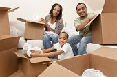 picture of crockery  - African American family - JPG