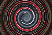 Grey, Red, Blue, White, Black Swirl Graphic