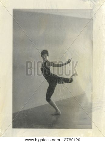 Yoga Natarajasana In Motion