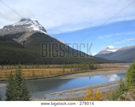 Mts. Amery And Saskatchewan Banff National Park, Alberta, Canada