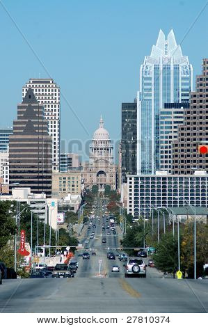 Downtown Austin Texas de South Congress