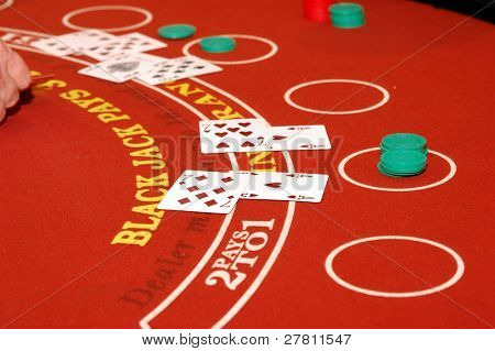 Las Vegas Blackjack game