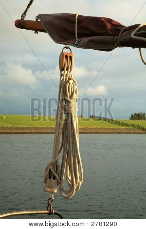 Rope Of Sailing-Boat