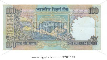 100 Rupee Bill Of India