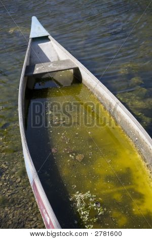 Flooded Canoe