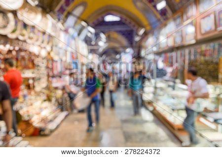 Grand Bazaar As Creative Abstract