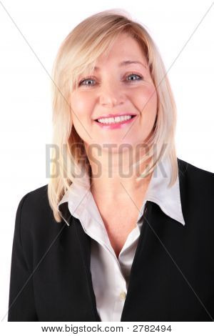 Portrait Of Middleaged Businesswoman