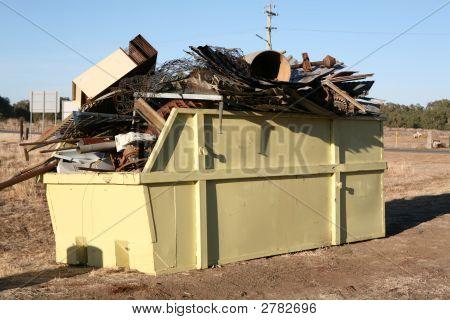 Industrial Waste Skip