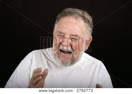 Old Man In Pain