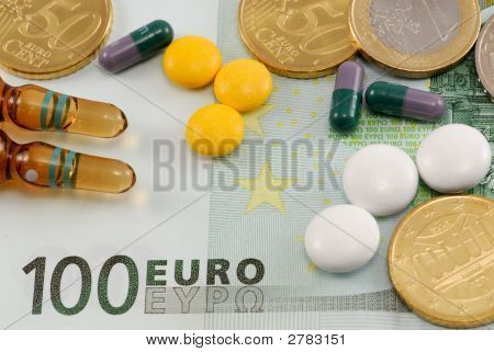 Pills On European Money